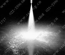 窄角实心锥yzc888喷嘴喷雾效果