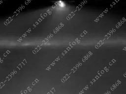 压力式扇形 空气雾化yzc888喷嘴喷雾效果
