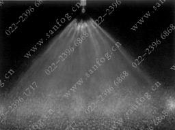 K1扇形空气yzc888喷嘴喷雾效果