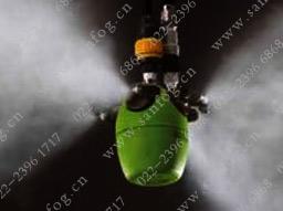 虹吸式圆形气雾yzc888喷嘴喷雾效果