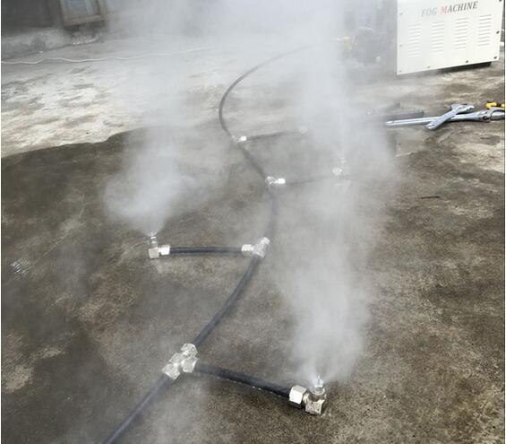 撞击喷嘴喷雾效果