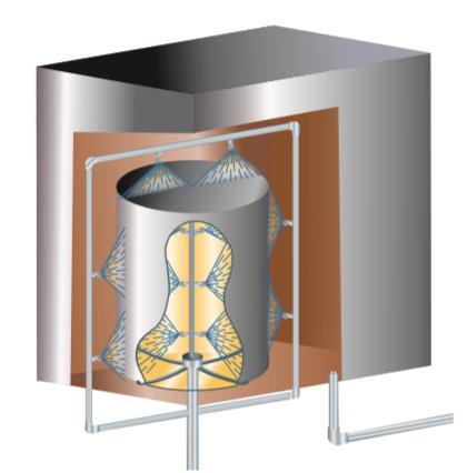 扇形喷嘴 三件组合式应用